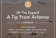 A Tip From The Expert Saturdays / Dr. Arianna knows what's best for your skin!