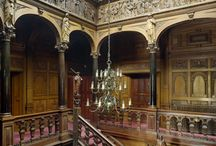 The Stair Hall and Foyer. / Please pin to your hearts content.