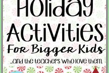 Education - Holiday Activities for Classroom