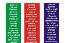 Türkische Sprache turkish language