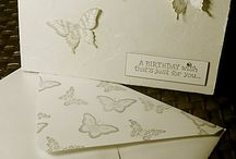 Cardmaking & crafts / Handmade cards and craft projects by Paula Michelle at Mister Jones Interiors.