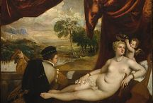 Titian Italian painter / Party scenes and ecstasy