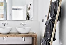 Salle de bain / Idées pour la salle de bain !