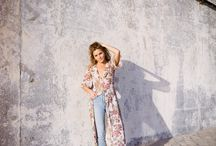 Desi / The Desi Kimono's washed silk-like material is ideal for when the weather begins to heat up. Desi is a light-weight, floral kimono cardigan that naturally flows with every step you take. You can wear Desi to the beach in Malibu, or a concert at the Hollywood Bowl and all else in between. Regardless of where you take her, you'll be the most stylish one there.