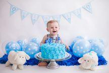 Inspiração: celebrando o primeiro ano de vida / Fotografias inpiracionais de bebes que estão comemorando o seu primeiro ano de vida