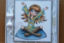 Make it Crafty / my cards from MIC digi stamps