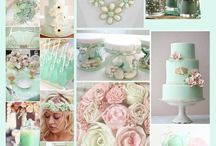 Pastel Botanica / Mood board for those who dream of lovely florals & sweet marshmallows