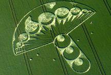 Crop Circles - Agroglyphes / by Sven Borzée