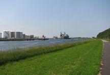 Rondje Landtong / Rozenburg, Landtong, Calandkanaal, Waterweg, Europoort, schepen