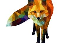 foxes--a board for Bowie