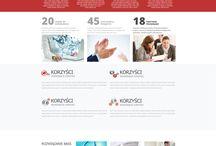 Strony www Wrocław / Najlepsze projekty stron internetowych związanych z serwisami, stronami firmowymi, wyzytówkami oraz blogami.