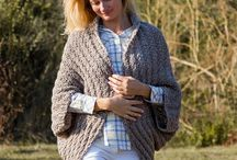 knitted cardigans & ponchos