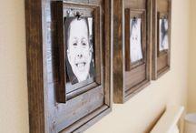 Picture Frame Ideas / by Caroline Lindskog