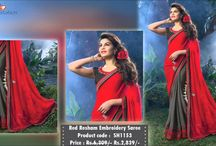 Party Wear Sarees / Buy party sarees, designer party wear sarees and party special saris at EthnicStation. Shop online for party wear saris and get express delivery along with friendly support