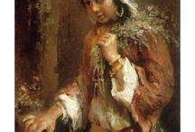 Konstantin Yegorovich Makovsky / Russian painter (1846-1920)