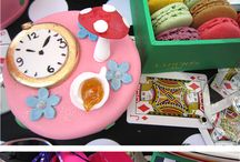 Parties: Alice in Wonderland / Inspiration for an Alice in Wonderland Party / by Meg McNulty