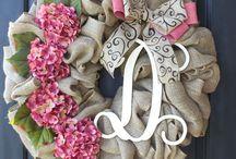 Hand crafts / Spring wreaths