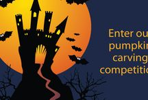 Halloween 2015 / Halloween pumpkin carving competition! Dress down Friday October 2015, raising money for St Luke's Hospice, Plymouth. Fancy dress, cakes and pumpkin carving fun.