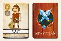 Bitwy Polan - card game / This is board about my game idea -Battle Polan's. Creatures and rules from Poland.