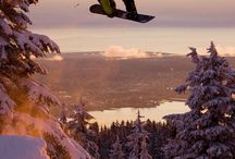 Snowboarding / by Stijn Knevels