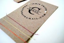 business cards / by Amanda Turner