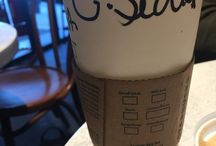 My name / My name at Starbucks