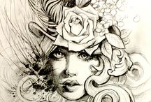 Ink / Tattoo designs I like!