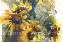malowane impresje / kwiaty