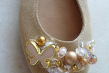 Handmade leather flats ballerinas by elli lyraraki