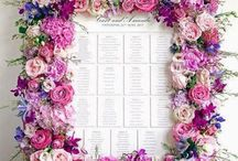 ♥ Ültetési rend ♥ Wedding Table Plan ♥