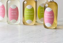 Homemade Champagne Simple Syrups