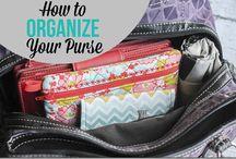 purse stuff / by Tiffany Toomey