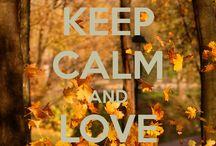 Keep calm. ... / by Agnieszka Kurowski