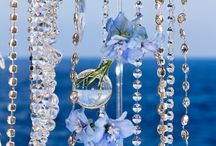 BLUE / WEDDING BLUE FLOWERS
