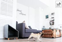 Made By Pets / Made by Pets is a brand dedicated to design contemporary furniture for home pets. Designed by architects to please you and your pupil.