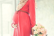 Beautiful Pregnant Muslimahs