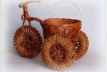 rowerek z koszem