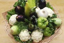 ovocné a zeleninové kytice