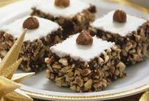 Hasselnuss-Kuchen zu Weihnachten