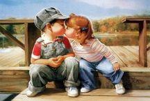 infanzia / l'infanzia di ogni tempo in ogni forma di  arte