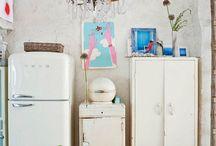 Волшебный бохо — лофт в Мадриде / Лофт в Мадриде в стиле бохо, который принадлежит фотографу интерьеров.