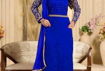 Party Wear Salwar Suits / Buy Kavya-28 Admirable Party Wear Georgette Suits Collection on www.fashionfiza.com