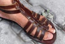 Men's Leather Gladiator Sandals / I found beautiful gladiator sandals