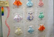 Little dresses Quilt. No pattern available