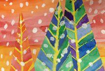 Kuvis, kasvit, puut ja sienet