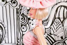 Hair Flair for Fashion Dolls / Decorate your head. Tinyfrockshop.com