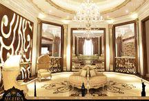 Luxury Villa Interior Design / www.algedra.ae