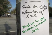 XING / All about XING, not Mainstream but special things in context. / by Frank Stratmann