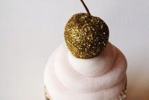 Coral, Pink, Gold Opulent Dessert Table