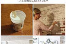 fireplace - white wash